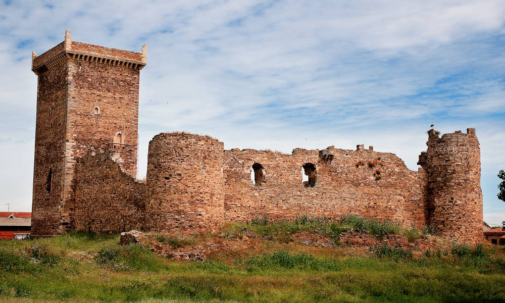 Castillo de los Quiñones Villanueva de Jamuz