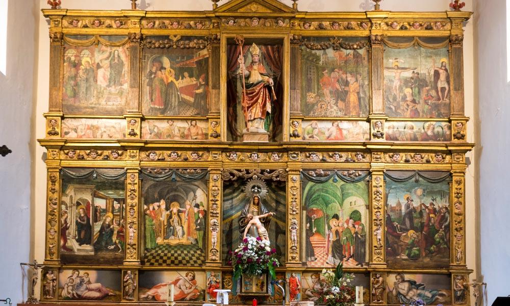 Retablo Iglesia de San Cipriano