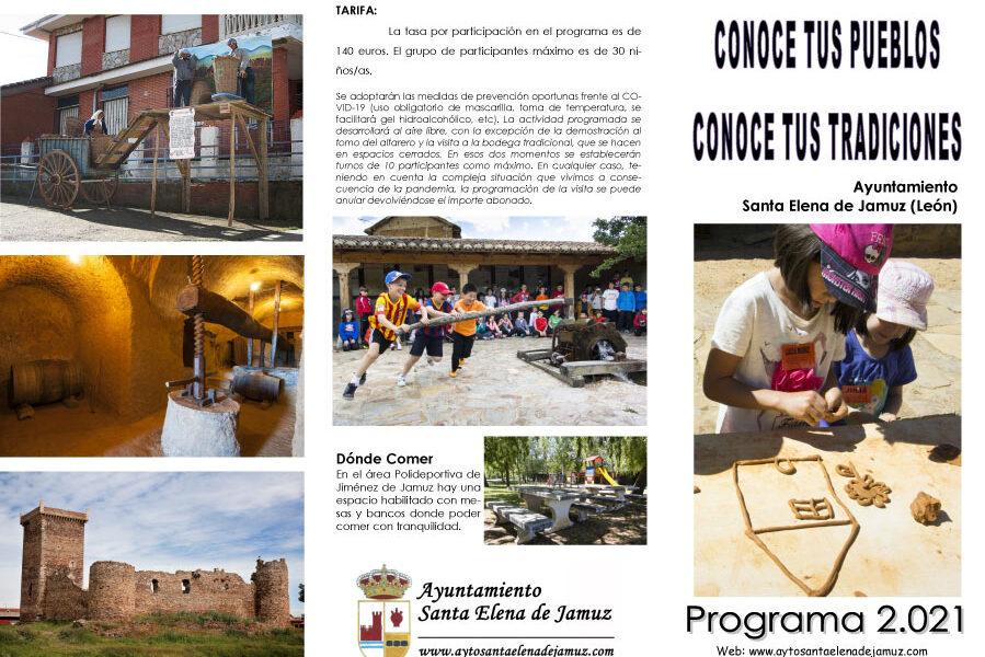 Visitas guiadas por el municipio de Santa Elena de Jamuz