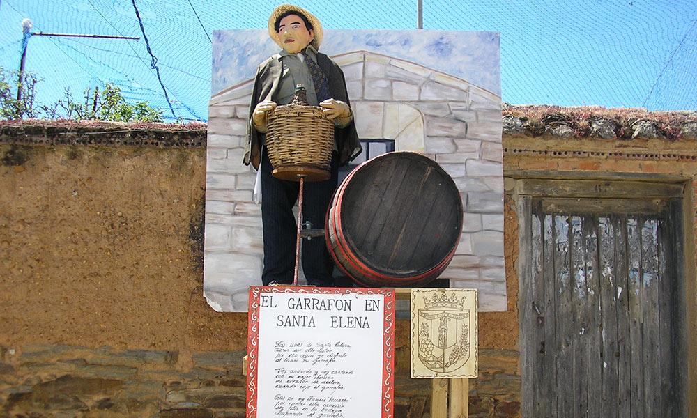 Los Mayos - Garrafón de Santa Elena
