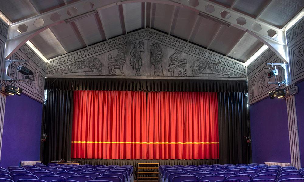 Salón de teatro Ayuntamiento Santa Elena de Jamuz