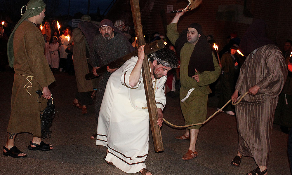 Vía Crucis - Santa Elena de Jamuz